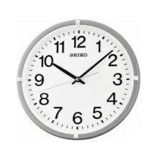 ซื้อ Seiko Clock Qxa652S Silver Quartz Jam Dinding ถูก