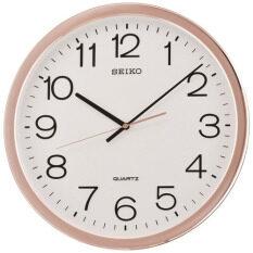 โปรโมชั่น Seiko นาฬิกาแขวน ขอบPinkgold ขนาด 12 นิ้ว รุ่น Pda014F ใน ไทย