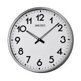 ซื้อ Seiko นาฬิกาแขวน ขนาดใหญ่ ขอบเงินหน้าขาว รุ่น Qxa560S ถูก