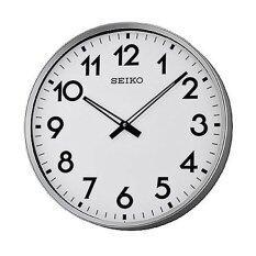 ซื้อ Seiko นาฬิกาแขวน ขนาดใหญ่ ขอบเงินหน้าขาว รุ่น Qxa560S ออนไลน์ ไทย