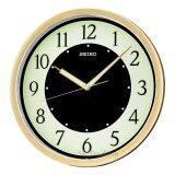 ขาย Seiko นาฬิกาแขวนผนัง 12 หน้าพรายน้ำ ขอบทอง รุ่น Qxa472G Gold Seiko ผู้ค้าส่ง