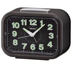 ราคา Seiko นาฬิกาตั้งปลุก Bell Alarm มีพรายน้ำ รุ่น Qhk026K ออนไลน์