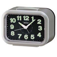 ขาย Seiko นาฬิกาตั้งปลุก Bell Alarm มีพรายน้ำ รุ่น Qhk026S Seiko ออนไลน์