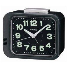 ราคา Seiko นาฬิกาตั้งปลุก Bell Alarm มีพรายน้ำ รุ่น Qhk028J ใหม่