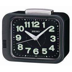 ซื้อ Seiko นาฬิกาตั้งปลุก Bell Alarm รุ่น Qhk028J Black Seiko ออนไลน์