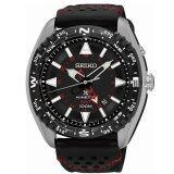ทบทวน Seiko Prospex Kinetic Gmt นาฬิกาข้อมือผู้ชาย สีเงิน สีดำ สีแดง สายผ้าร่ม รุ่น Sun049P2