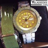 ซื้อ Seiko Spirit Smart Save The Sea Drivers Automatic Limited Edition นาฬิกาข้อมือผู้ชาย สายสแตนเลส รุ่น Srpa39J1 ถูก