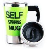 ทบทวน Self Stirring Mug แก้วชงกาแฟอัตโนมัติ แบบสแตนเลส Green Shop108