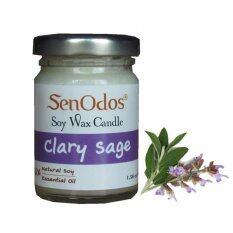 ความคิดเห็น Senodos 100 Clary Sage Scented Soy Candles With Pure Essential Oils 45 G