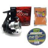 ขาย Set Shimano Fx1000 Fb รอกตกปลาชิมาโน่ 1000Fb สายPe10Lb ฟรีหัวเชื้อผง พรีเมี่ยม ต้นหลิว สำหรับตกปลาเกล็ด และ ตีเหยื่อปลอม ถูก ใน ไทย