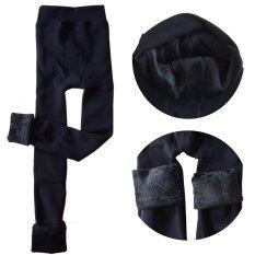 ขาย S*xy Secret Pearl Cashmere Leggings กางเกงเลคกิ้งกันหนาวอย่างดี สีดำ Unbranded Generic เป็นต้นฉบับ