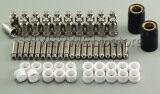 ราคา Sg 51 Plasma Electrode Nozzle Tip 1 2 60A Plasma Cutter Consumables 62Pcs