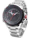 โปรโมชั่น Shark นาฬิกาข้อมือ Winghead Shark Collection Black Red ถูก