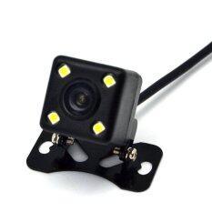 Shogun กล้องมองหลัง กันน้ำ 4LED 170องศา รุ่น E314 - Black