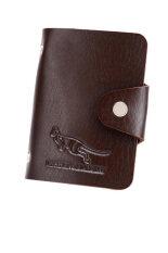ส่วนลด Shop Jung กระเป๋าสตางค์ ใส่ บัตร Credit Card รูป จิงโจ้ รุ่น 000045 Brown