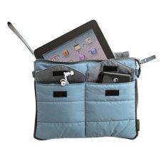 ราคา ราคาถูกที่สุด Shop Jung กรเป๋าผ้า สำหรับ I Pad หรือ Tablet และของสำคัญ ติดตัว Code 000090 Blue