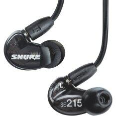 Shure Earphone SE215 Sound Isolating In-Ear (สีดำ)