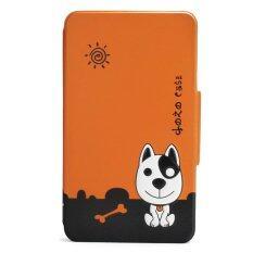 Siam Tablet Shop case for True Smart Tab Gen Me รุ่น Dozo Dog (สีส้ม)