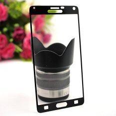 ราคา Siam Tablet Shop ฟิล์มกระจกนิรภัย Tempered Glass Samsung Galaxy Note 4 เต็มจอ สีดำ ราคาถูกที่สุด