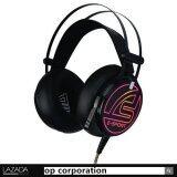 ซื้อ Signo E Sport Hp 818 Alligator 7 1 Surround Sound Vibration Gaming Headphone Black ใหม่ล่าสุด