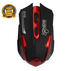 Signo Wireless Gaming Mouse Wm-191br (red)