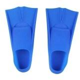ขาย Silicone Rubber Short Swimming Training Fins For Kids And Adults 35 36 Blue จีน