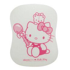 ราคา Silicone Zone เขียงซิลิโคน Hello Kitty Cutting Board สีชมพู ใหม่ ถูก