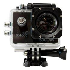 SJCAM กล้องกันน้ำ Action Camera รุ่น SJ4000 WiFi (สีดำ)