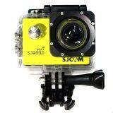 โปรโมชั่น Sjcam Sj4000 Wi Fi รุ่น ปุ่มกดใหญ่ Yellow เมนูภาษาไทย Sjcam