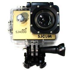 SJCAM SJ4000 Wi-Fi รุ่นปุ่มกดใหญ่ Gold เมนูภาษาไทย