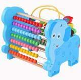 ราคา Sk Toys ชุดรางลูกคิดพร้อมขดลวดกิจกรรม ลายช้าง สีฟ้า ใหม่ ถูก
