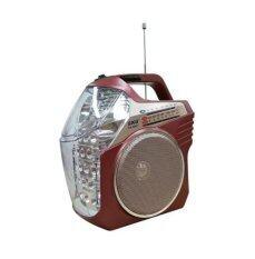 ขาย Skg วิทยุพร้อมไฟฉายในตัว Fm Am ช่องเสียบ Sd Card Usb ใช้แทนลำโพงได้ Red Skg เป็นต้นฉบับ