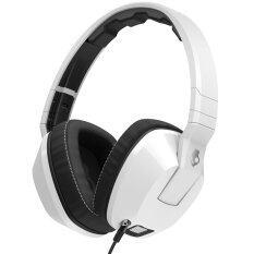 Skullcandy (Over-Ear) Crusher Mic 1 หูฟัง หูฟังแบบครอบหู White