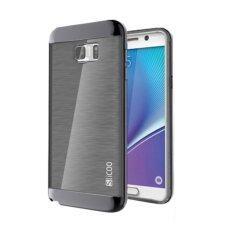 Slicoo Case For Samsung Note 5 Black เป็นต้นฉบับ