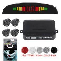 รถยนต์เซ็นเซอร์ที่จอดรถ Led อัลตราโซนิกเซ็นเซอร์สำรองข้อมูลย้อนกลับเรดาร์ตรวจจับเซ็นเซอร์สีเงินที่มีการแสดงแสงไฟ By Shenzhen Epath Electronic Commerce.