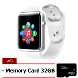 ซื้อ Smart Life Limitededition 2015 Hot Fashion Business Smart Watch Phone นาฬิกาอัจฉริยะ สีขาว Free Memory Card 32Gb ออนไลน์