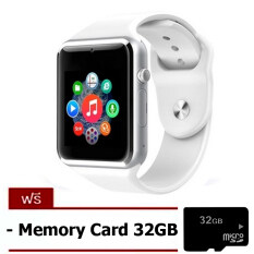 Smart life LimitedEdition 2015 Hot Fashion Business Smart Watch Phone นาฬิกาอัจฉริยะ (สีขาว) Free Memory card 32Gb