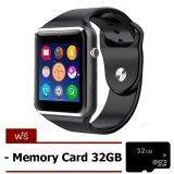 Smart Life Smart Watch Phone นาฬิกาโทรศัพท์อัจฉริยะ A1 สีเงิน Free Memory Card 32 Gb ใหม่ล่าสุด