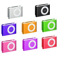 ซื้อ Smart Mini Clip Mp3 Player Bass 3D Stereo Music Speaker เครื่องเล่น Mp3 ขนาดพกพา Pink ฟรี Mini Usb Cable สายเคเบิล Charger Data Sync Smart