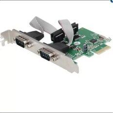 ขาย Smart Pc 2 Port Pci E Serial Pci Express Controller Card Unbranded Generic ออนไลน์