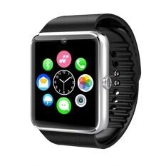 Smart Tech นาฬิกาโทรศัพท์อัจฉริยะ รุ่น ST8 (สีเงิน)