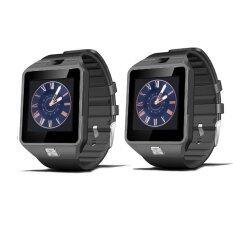 ราคา ราคาถูกที่สุด Smart Watch Z นาฬิกาโทรศัพท์ Smart Watch รุ่น A9 Phone Watch แพ็ค 2 ชิ้น Black