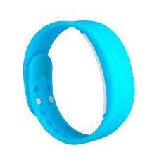 Smart watches  นาฬิกาข้อมือนับแคลอรี่ นับจำนวนก้าวเดิน วัดอุณภูมิและการนอนหลับ (สีฟ้า)