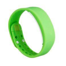 Smart watches นาฬิกาข้อมือนับแคลอรี่ นับจำนวนก้าวเดิน วัดอุณภูมิและการนอนหลับ (สีเขียว)