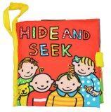 ราคา Smartbabyandkid หนังสือผ้า Hide And Peek เป็นต้นฉบับ