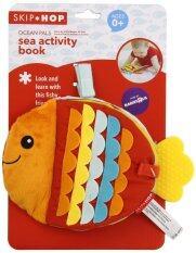 Smartbabyandkid Skk Ocean Pals Sea Activity Book หนังสือผ้ารูปปลา เป็นต้นฉบับ