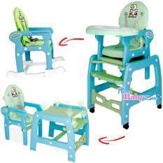 ขาย Smartkidschair เก้าอี้ทานข้าวเด็กพร้อมโต๊ะเด็กและเก้าอี้เด็ก แบบ 3In1 รุ่น Kc 3In1 B สีฟ้า ลายการ์ตูน Smartkidschair ผู้ค้าส่ง