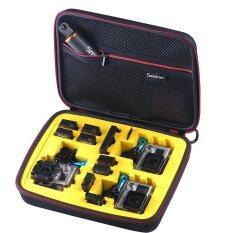 smatree กระเป๋ากล้อง รุ่น 260sw ขนาดกลางถึงใหญ่ สีดำโคฟเวอร์โฟมข้างในสีเหลือง