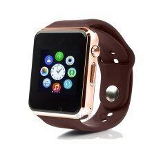 ราคา Smile C นาฬิกาโทรศัพท์ Smart Watch รุ่น A1 Phone Watch Gold