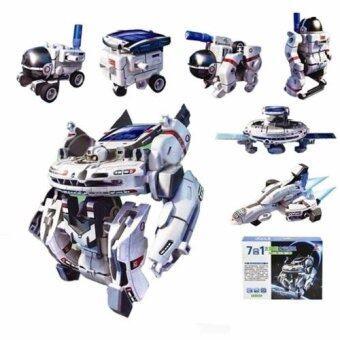 ของเล่นพลังงานแสงอาทิตย์ Solar Robot 7in1 Space Fleet DIY Toys